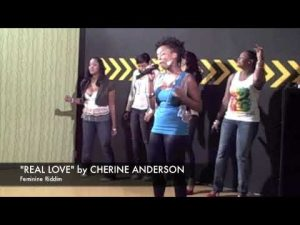 "Cherine Anderson sings ""REAL LOVE""  on Hype TV"