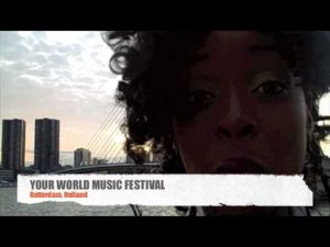 Cherine  ANDERSON @ YOUR WORLD MUSIC FESTIVAL 2009  ROTTERDAM HOLLAND