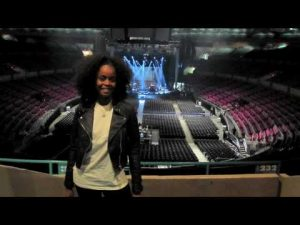 Cherine performs at Madison Square Garden pt. 2.