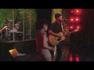 "The Ellen Degeneres Show:  Michael Franti ft. Cherine Anderson  ""Say Hey (I Love You)"""